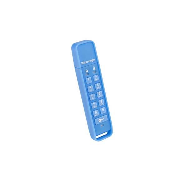 USB kľuč datAshur Personal Šifrovaný Flashdisk, 16 GB, USB 2.0, Blue - rýchlosť čítania 27 MB/s