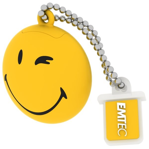 USB kľuč Emtec 8 GB, USB 2.0, Smiley Take it easy