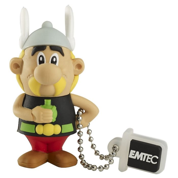 USB k�u� Emtec AS101, 4GB, Asterix