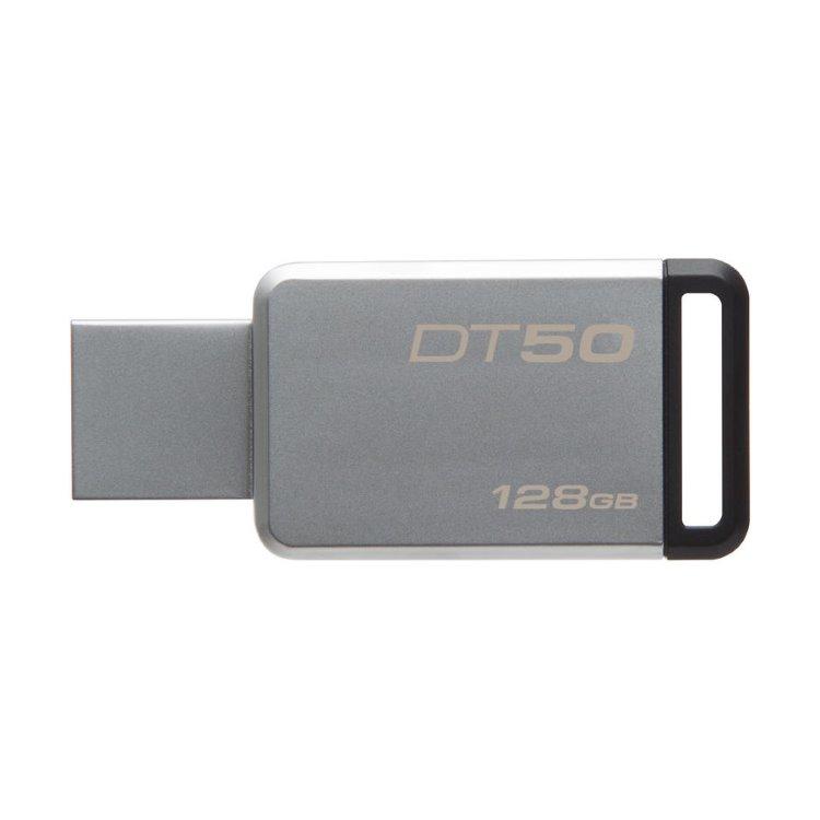 USB kľúč Kingston DataTraveler 50, 128GB, USB 3.1 - rýchlosť 100MB/s (DT50/128GB)
