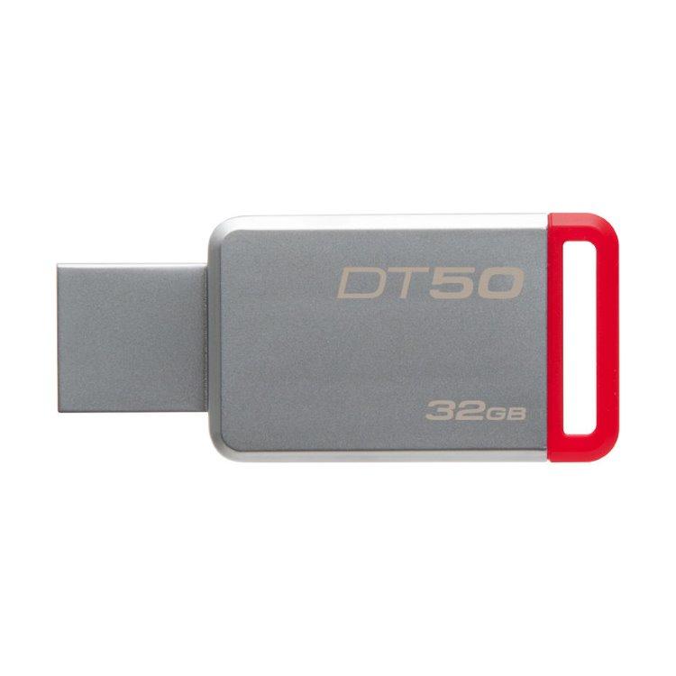 USB kľúč Kingston DataTraveler 50, 32GB, USB 3.1 - rýchlosť 100MB/s (DT50/32GB)
