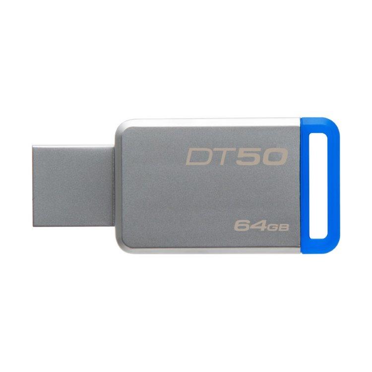 USB kľúč Kingston DataTraveler 50, 64GB, USB 3.1 - rýchlosť 100MB/s (DT50/64GB)