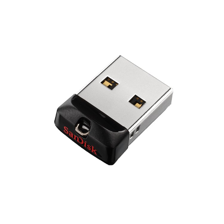 USB kľúč SanDisk Cruzer Fit, 64GB, USB 2.0 (SDCZ33-064G-G35)