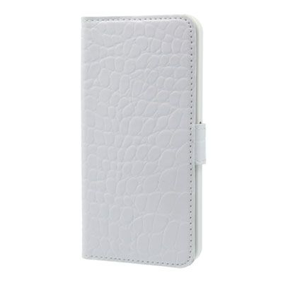 Valenta Booklet Croco White Samsung Galaxy S3