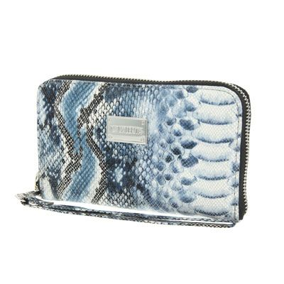 Valenta Handbag Animal Snake Blue