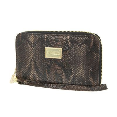 Valenta Handbag Animal Snake Brown