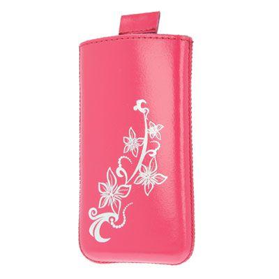 Valenta Pocket Lily Pink, do veľkosti 115.2 x 58.6 x 9.3 mm (Apple iPhone 4/4S)