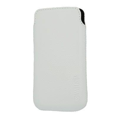 Valenta Pocket Malta White, do veľkosti 115.2 x 58.6 x 9.3 mm (Apple iPhone 4/4S)
