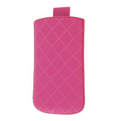 Valenta Pocket Neo Diamonds Pink, do veľkosti 125.3 x 66.1 x 8.5 mm (Samsung Galaxy S II)