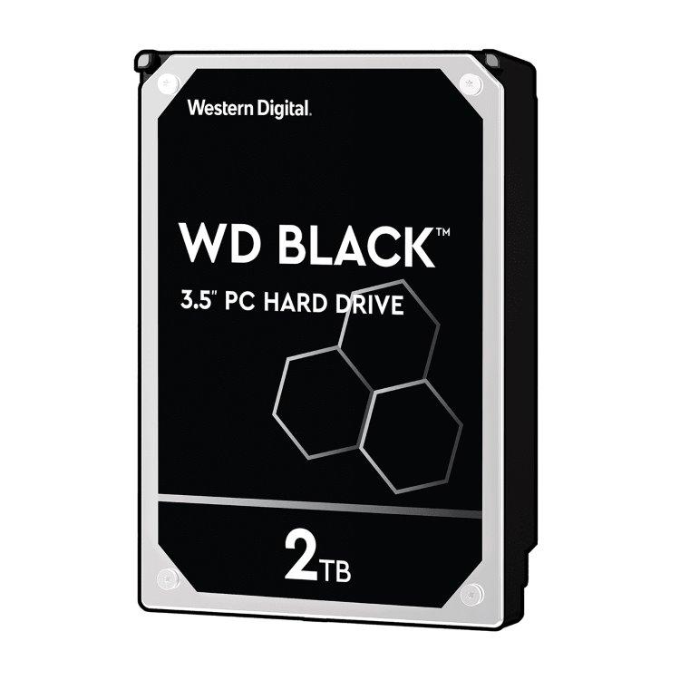 "Western Digital HDD Black, 2TB, 64MB Cache, 7200 RPM, 3.5"" (WD2003FZEX)"