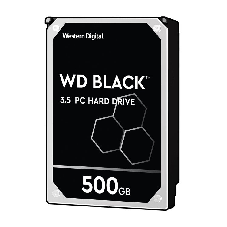 "Western Digital HDD Black, 500GB, 64MB Cache, 7200 RPM, 3.5"" (WD5003AZEX)"
