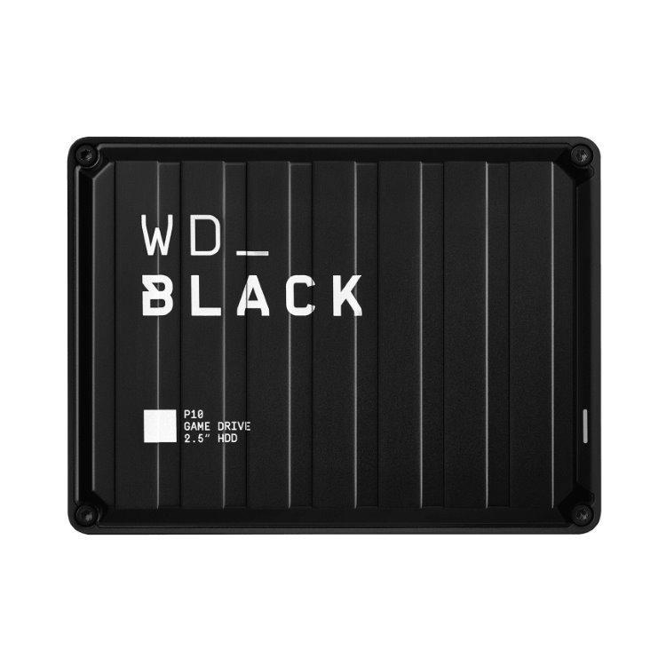 Western Digital HDD Black P10 Game Drive, 5TB (WDBA3A0040BBK-WESN)