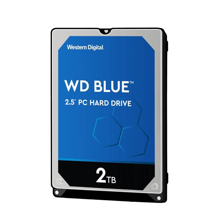 "Western Digital HDD Blue, 2TB, 128MB Cache, 5400 RPM, 2.5"" (WD20SPZX)"