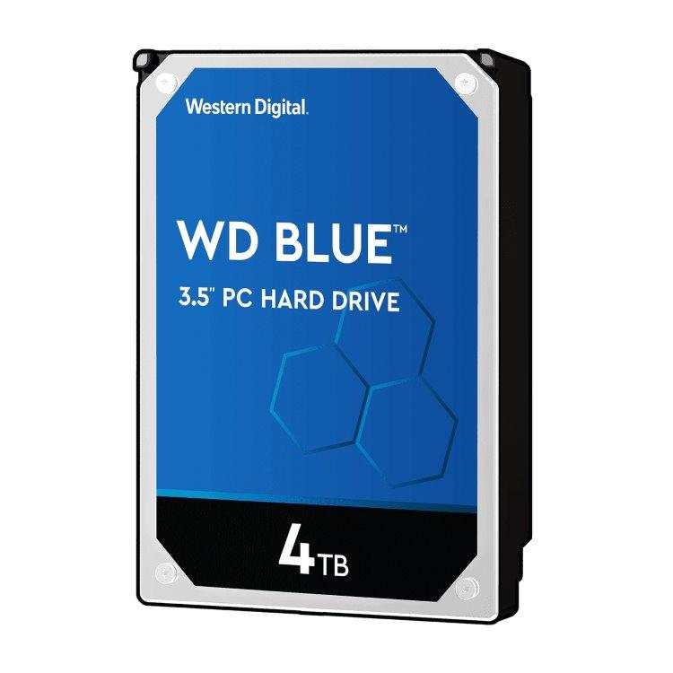 """Western Digital HDD Blue, 4TB, 64MB Cache, 5400 RPM, 3.5"""" (WD40EZRZ)"""