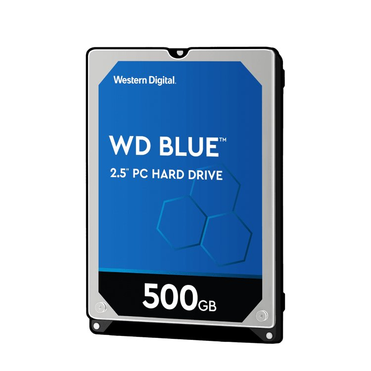 "Western Digital HDD Blue, 500GB, 16MB Cache, 5400 RPM, 2.5"" (WD5000LPCX)"
