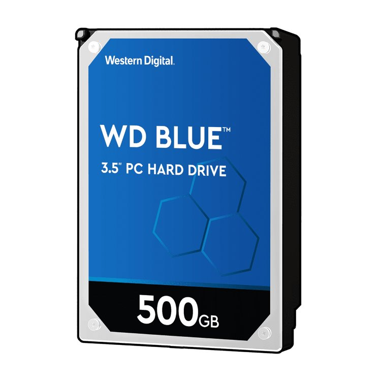 "Western Digital HDD Blue, 500GB, 64MB Cache, 5400 RPM, 3.5"" (WD5000AZRZ)"