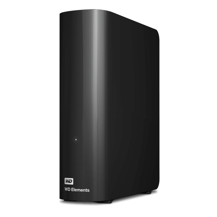 Western Digital HDD Elements Desktop, 12TB, USB 3.0 (WDBWLG0120HBK-EESN)