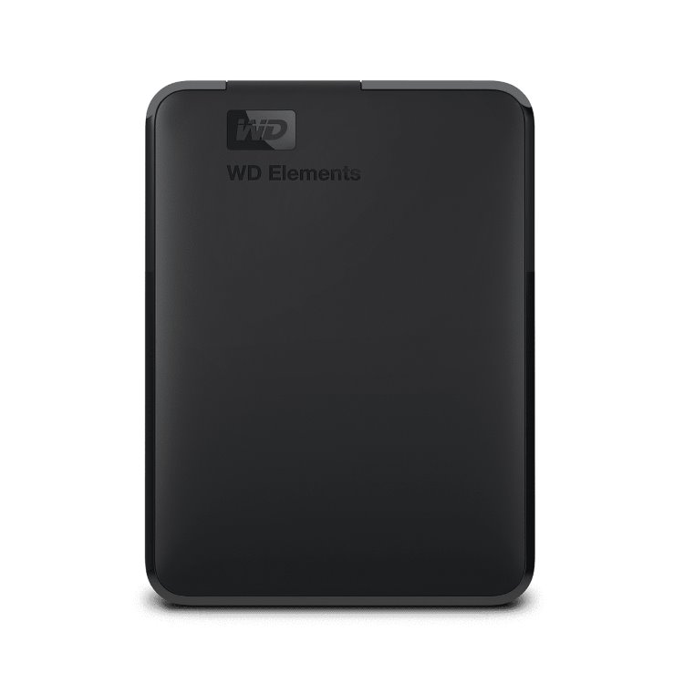 Western Digital HDD Elements Portable, 1TB, USB 3.0 (WDBUZG0010BBK-WESN)