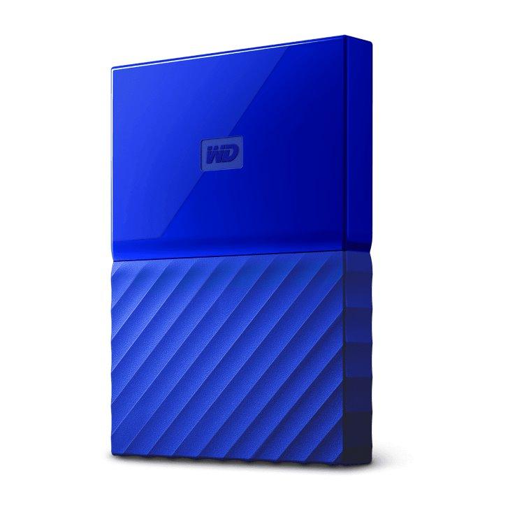Western Digital HDD My Passport, 1TB, USB 3.0, Blue (WDBYNN0010BBL-WESN)