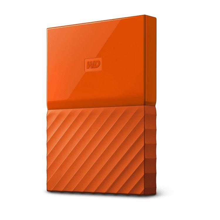 Western Digital HDD My Passport, 1TB, USB 3.0, Orange (WDBYNN0010BOR-WESN)