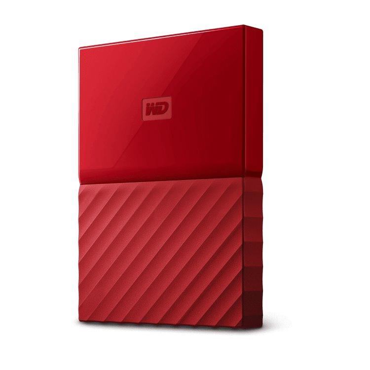 Western Digital HDD My Passport, 1TB, USB 3.0, Red (WDBYNN0010BRD-WESN)
