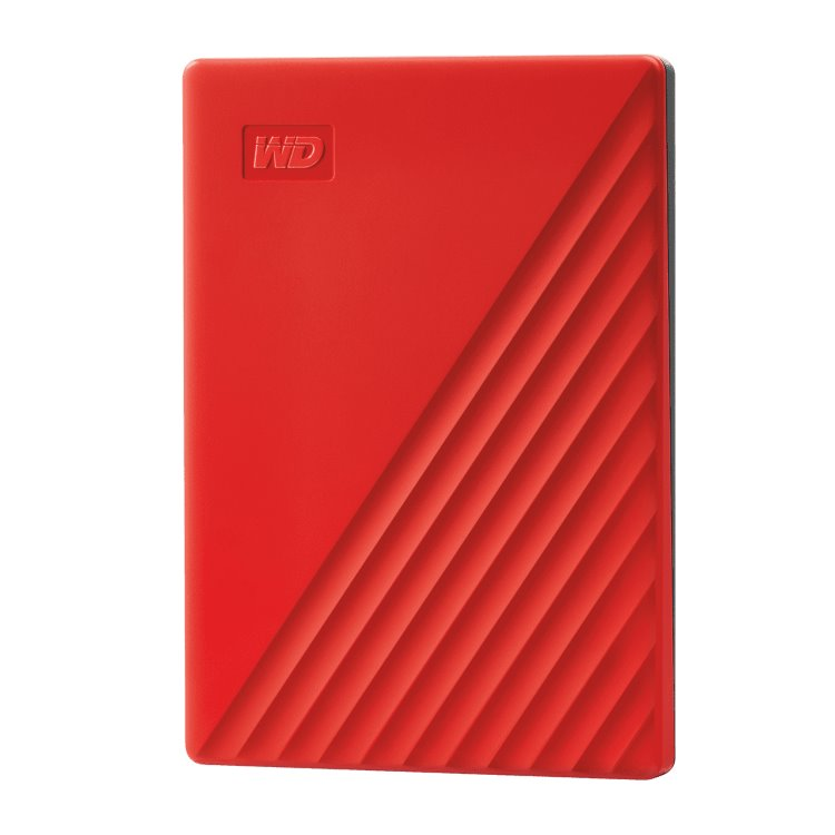Western Digital HDD My Passport, 2TB, USB 3.0, Red (WDBYVG0020BRD-WESN)