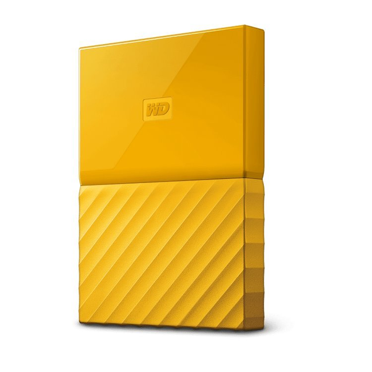 Western Digital HDD My Passport, 2TB, USB 3.0, Yellow (WDBS4B0020BYL-WESN)
