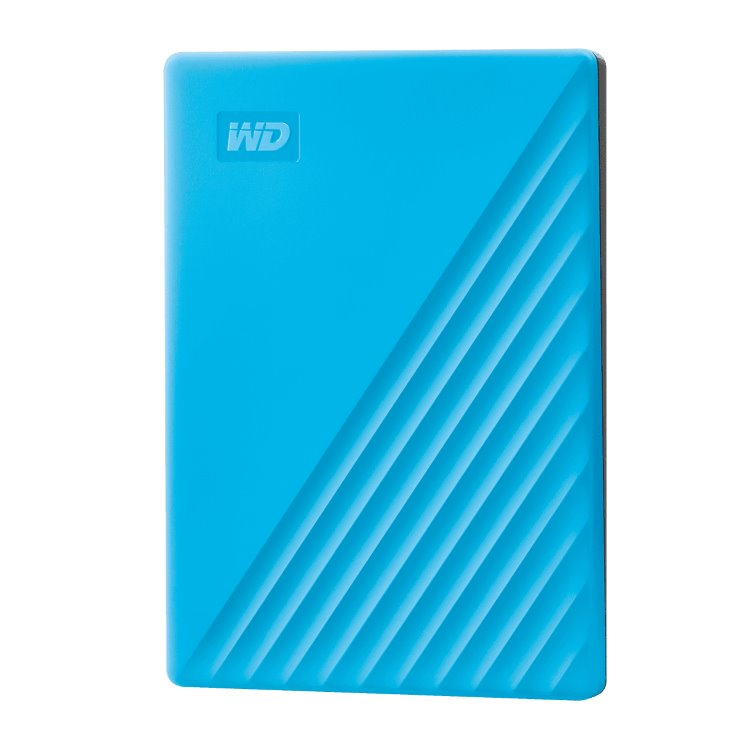 Western Digital HDD My Passport, 4TB, USB 3.0, Blue (WDBPKJ0040BBL-WESN)