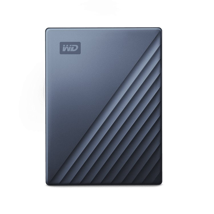 Western Digital HDD My Passport Ultra, 2TB, USB-C, Grey (WDBC3C0020BBL-WESN)