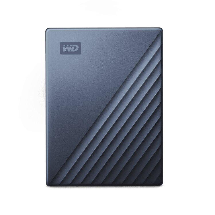 Western Digital HDD My Passport Ultra, 4TB, USB-C, Grey (WDBFTM0040BBL-WESN)