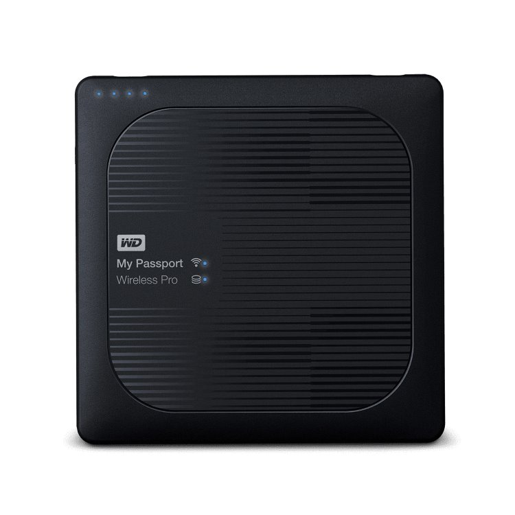 Western Digital HDD My Passport Wireless Pro, 3TB, USB 3.0 (WDBSMT0030BBK-EESN)