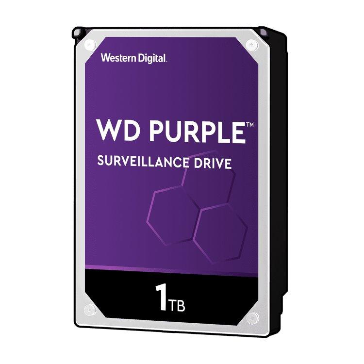 "Western Digital HDD Purple, 1TB, 64MB Cache, 5400 RPM, 3.5"" (WD10PURZ)"