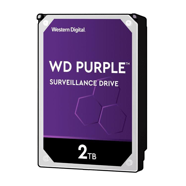 "Western Digital HDD Purple, 2TB, 64MB Cache, 5400 RPM, 3.5"" (WD20PURZ)"