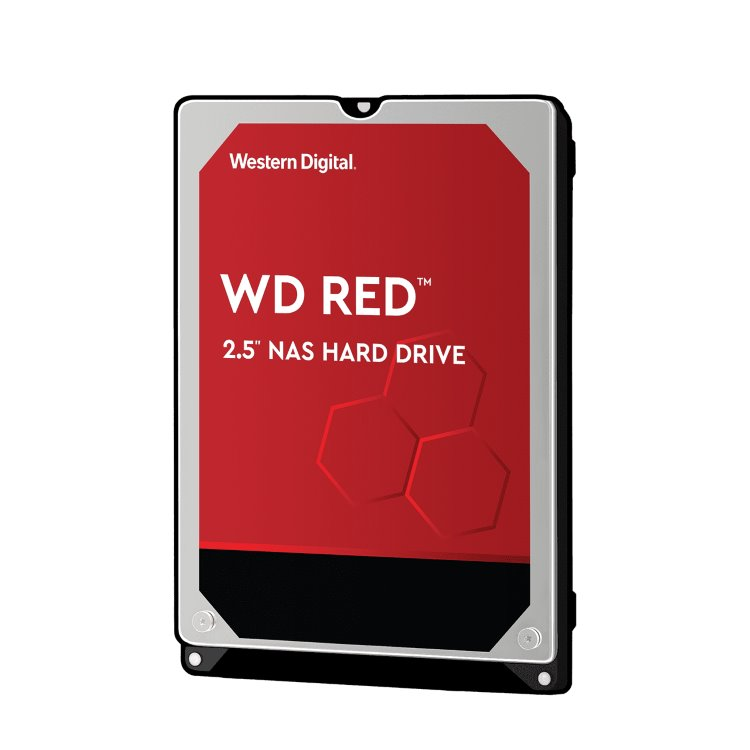 "Western Digital HDD Red, 1TB, 16MB Cache, 5400 RPM, 2.5"" (WD10JFCX)"
