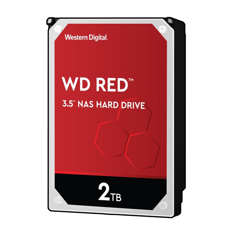 "Western Digital HDD Red, 2TB, 256MB Cache, 5400 RPM, 3.5"" (WD20EFAX)"