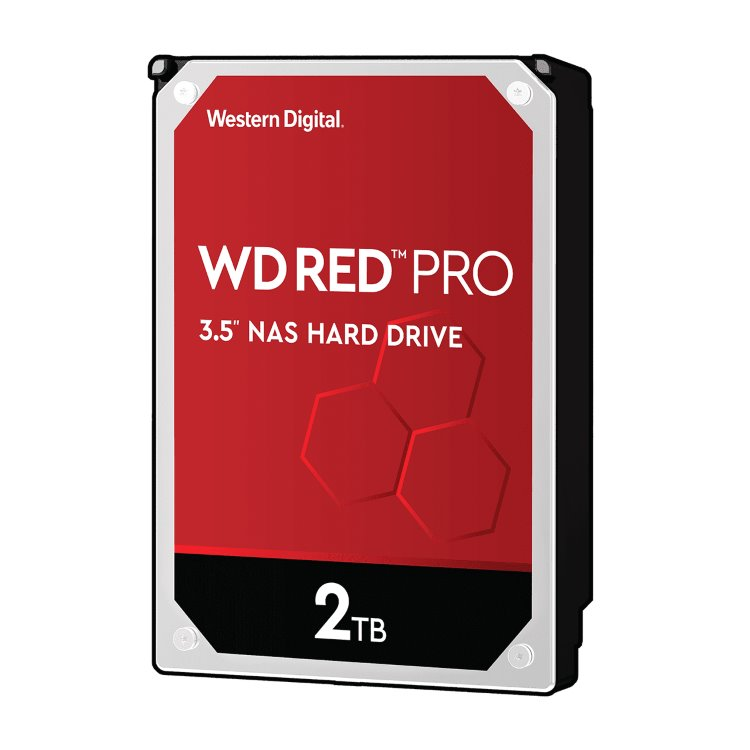 "Western Digital HDD Red Pro, 2TB, 64MB Cache, 7200 RPM, 3.5"" (WD2002FFSX)"