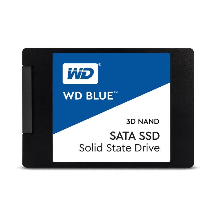 """Western Digital SSD Blue, 250GB, 2.5"""" - rýchlosť 550/525 MB/s (WDS250G2B0A)"""