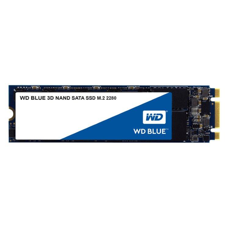 Western Digital SSD Blue, 500GB, M.2 - rýchlosť 560/530 MB/s (WDS500G2B0B)