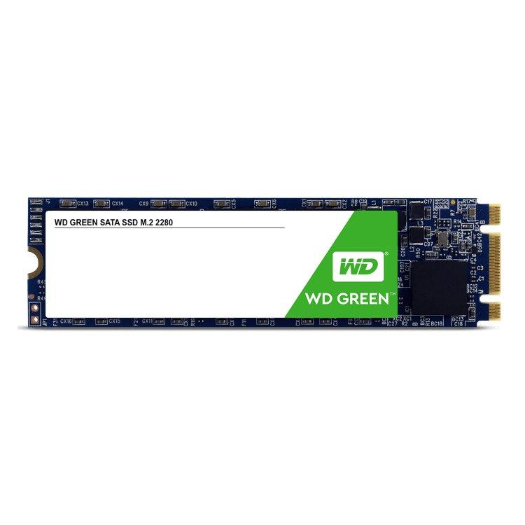 Western Digital SSD Green, 120GB, M.2 - rýchlosť 545 MB/s (WDS120G2G0B)