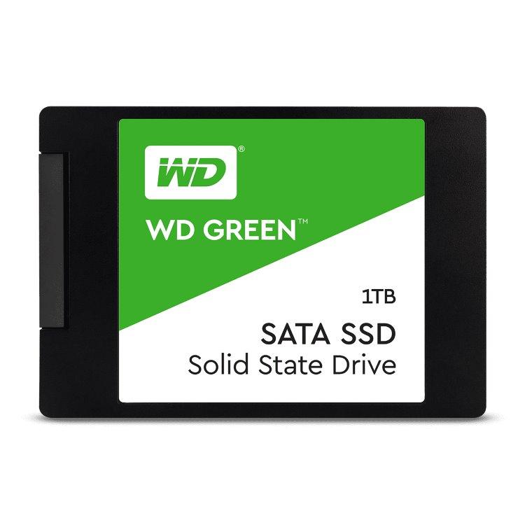 """Western Digital SSD Green, 480GB, 2.5"""" - rýchlosť 545 MB/s (WDS480G2G0A)"""