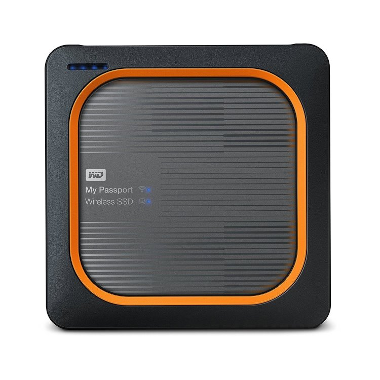 Western Digital SSD My Passport Wireless, 500GB, USB 3.0 (WDBAMJ5000AGY-EESN)