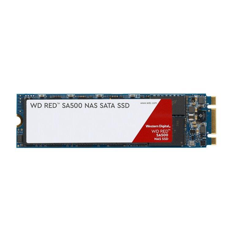Western Digital SSD SA500 NAS Red, 500GB, M.2 - rýchlosť 560/530 MB/s (WDS500G1R0B)
