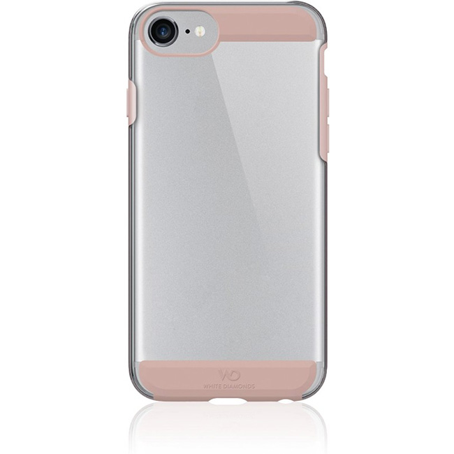 White Diamonds Innocence Case Clear iPhone 6/7/8/SE 2020, Rose Gold 1343CLR56