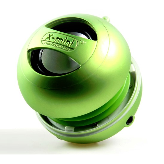 X-mini II, prenosn� reproduktor - 3.5 mm jack, Green