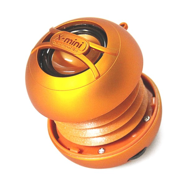 X-Mini Uno, prenosn� reproduktor - 3.5 mm jack, Orange