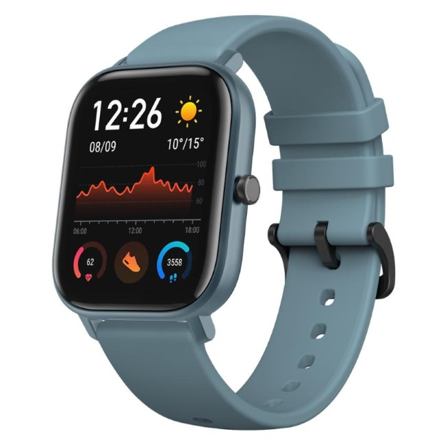 Xiaomi Amazfit GTS, multifunkčné hodinky, Blue