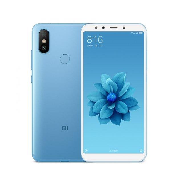 Xiaomi Mi A2, 6/128GB, Dual SIM, Blue + silikónové puzdro Xiaomi