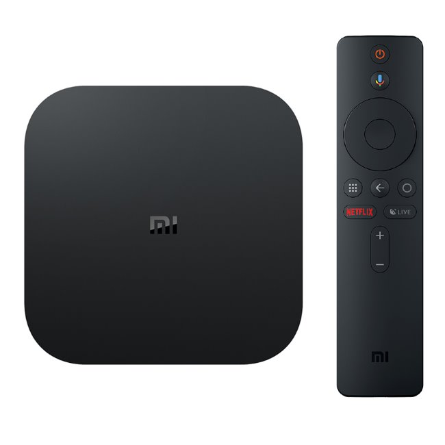 Xiaomi Mi Box S - 4K HDR, Android TV set-top-box, Black