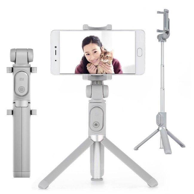 Xiaomi Mi Selfie Stick Tripod - Bluetooth selfie tyč, Grey