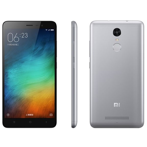 Xiaomi Redmi Note 3, 16GB, Dual SIM, Black